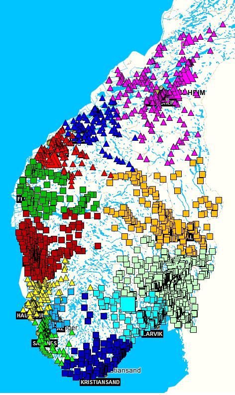 postnr oslo kart Avstandsmatriser   Infomap Norge AS postnr oslo kart